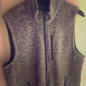 Beverly Hills Polo Club Heathered Grey Vest (L)